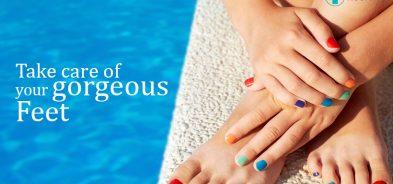 Take Care of Gorgeous feet
