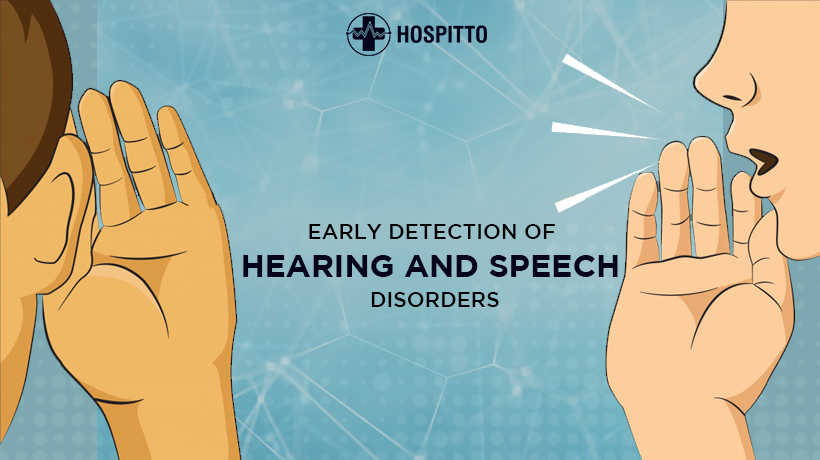 hearing and speech problem